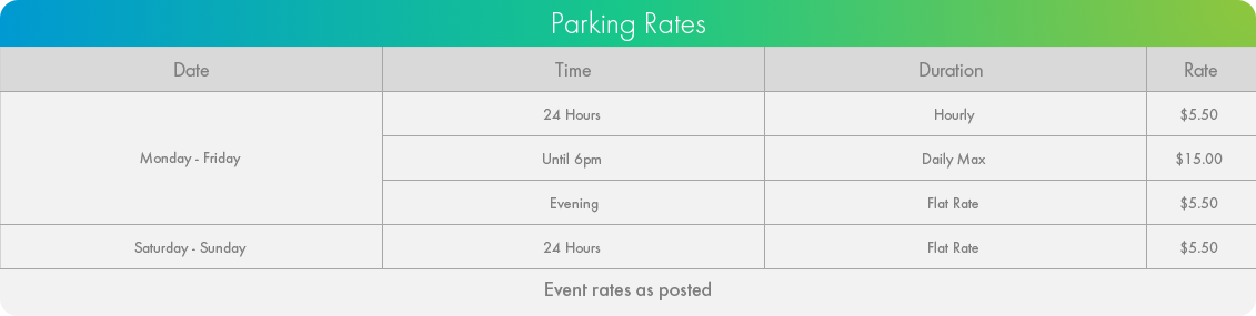 Updated Parking Rates for St Stephens College