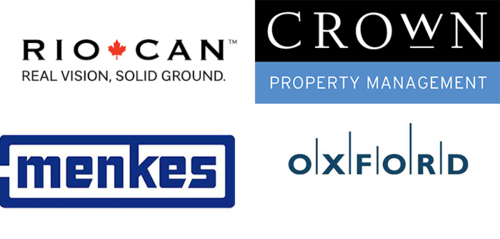 RioCan REIT, Crown Property Management Inc., Menkes Property Management Services Ltd., Oxford Properties Group
