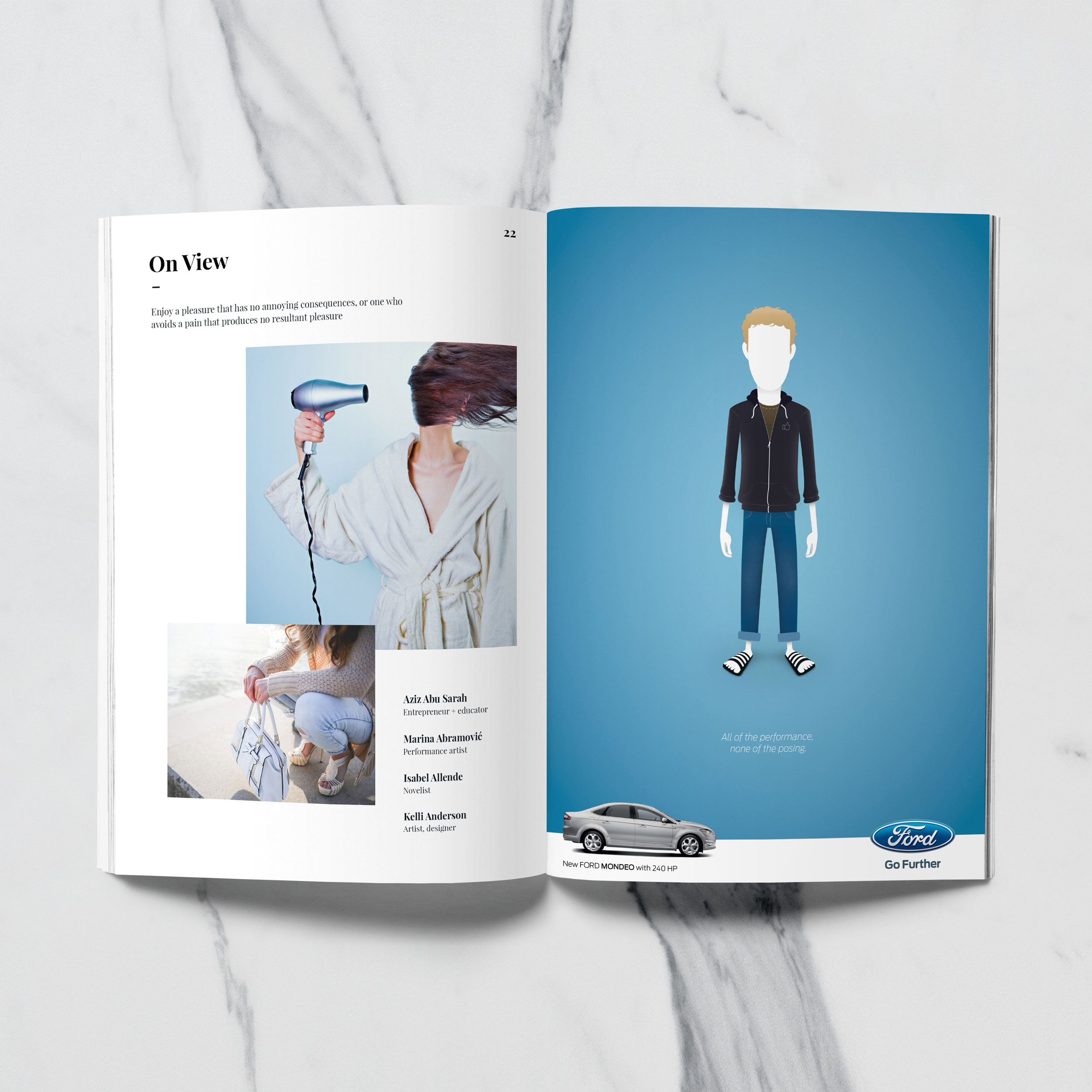 Ford Print Campaign Art Direction Noam Laist S Portfolio