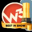 W3 Awards 2016 - Best in Show Winner