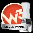 W3 Awards 2016 - Silver Winner