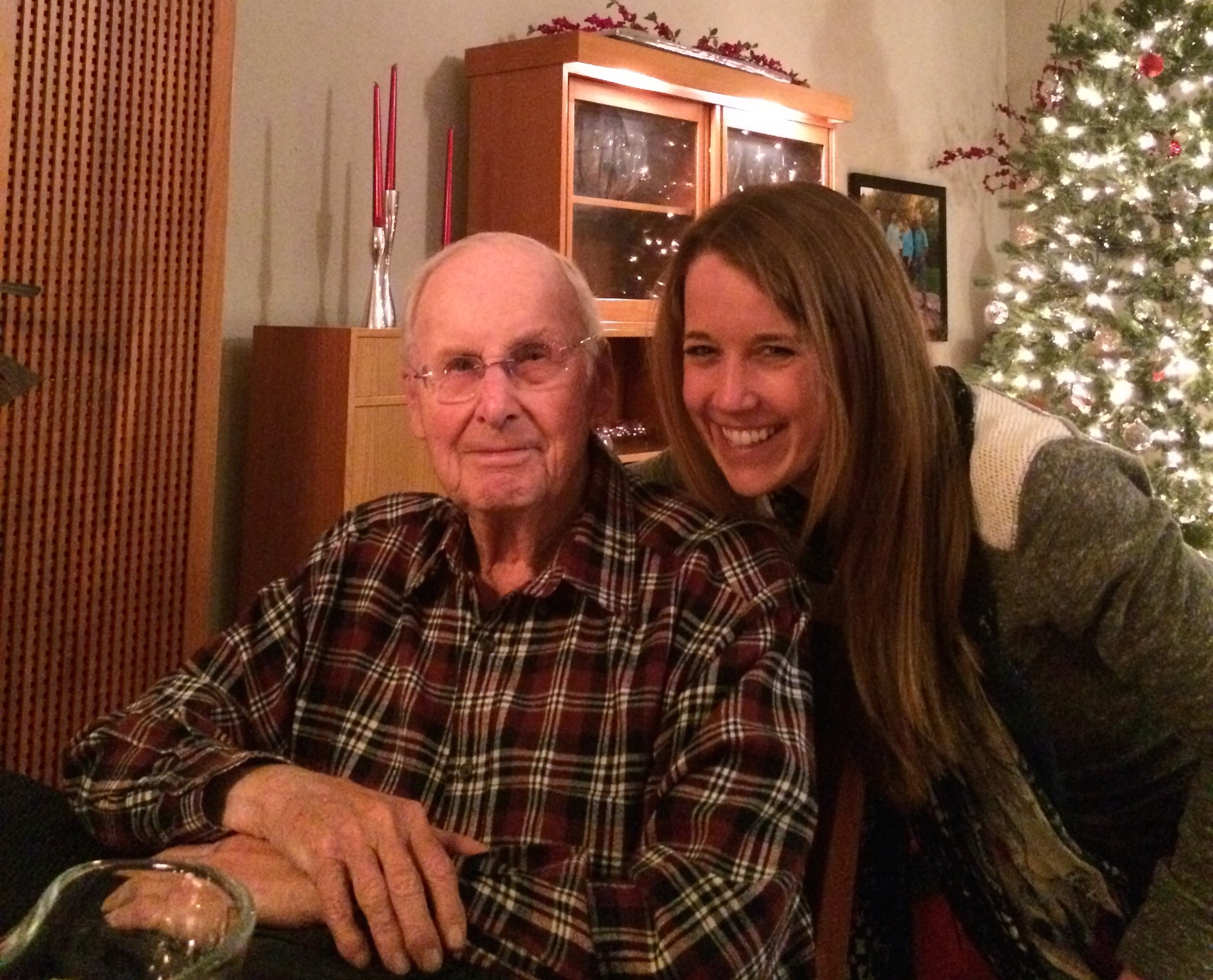 Christmas 2014 in Arizona, when I first asked my Grandpa to be featured in my blog. He's only gotten stronger since then! Oh and he reads the WSJ every day too, brains.