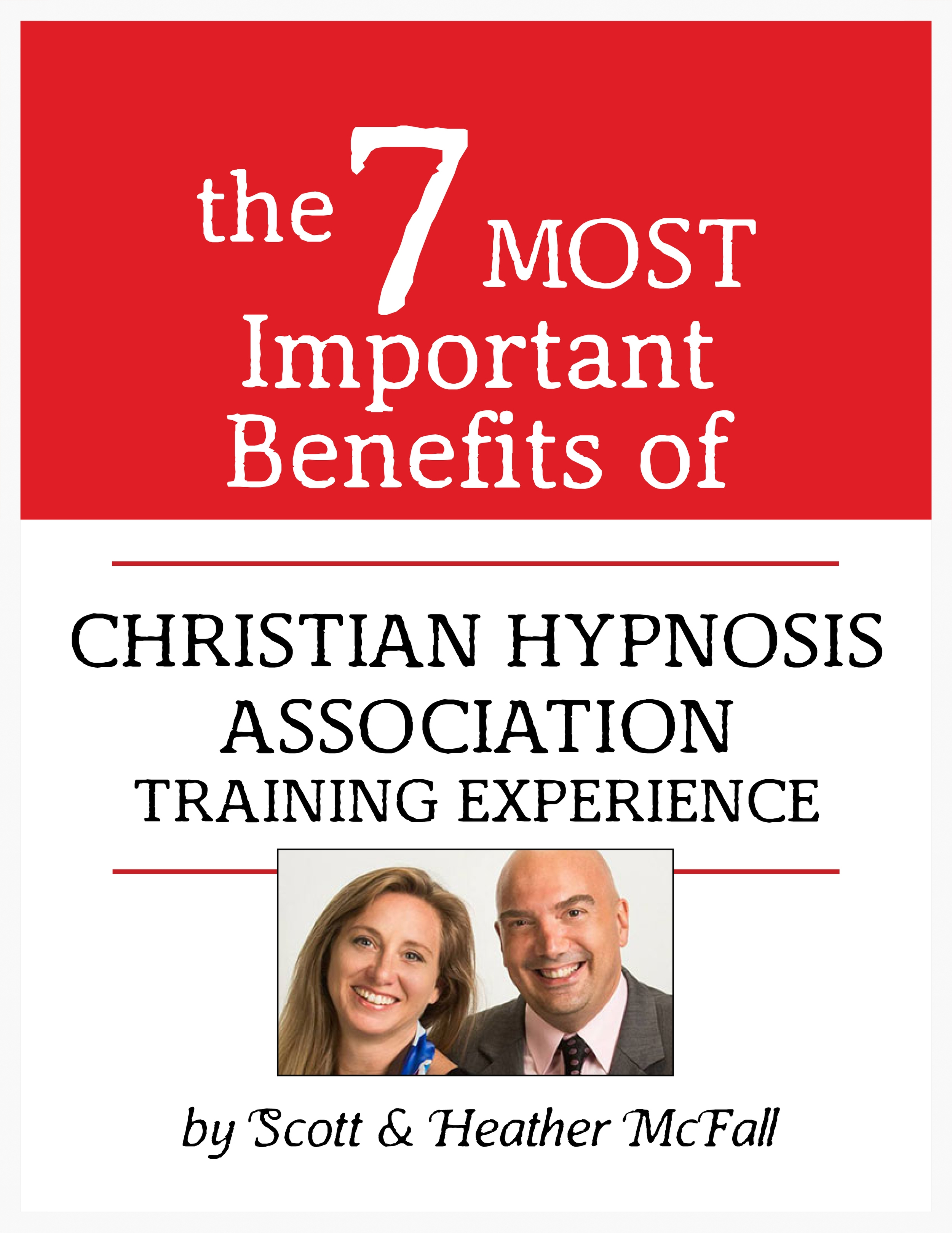 Christian Hypnosis Association Training Experience, by Scott and Heather McFall, Fort Myers, Florida.