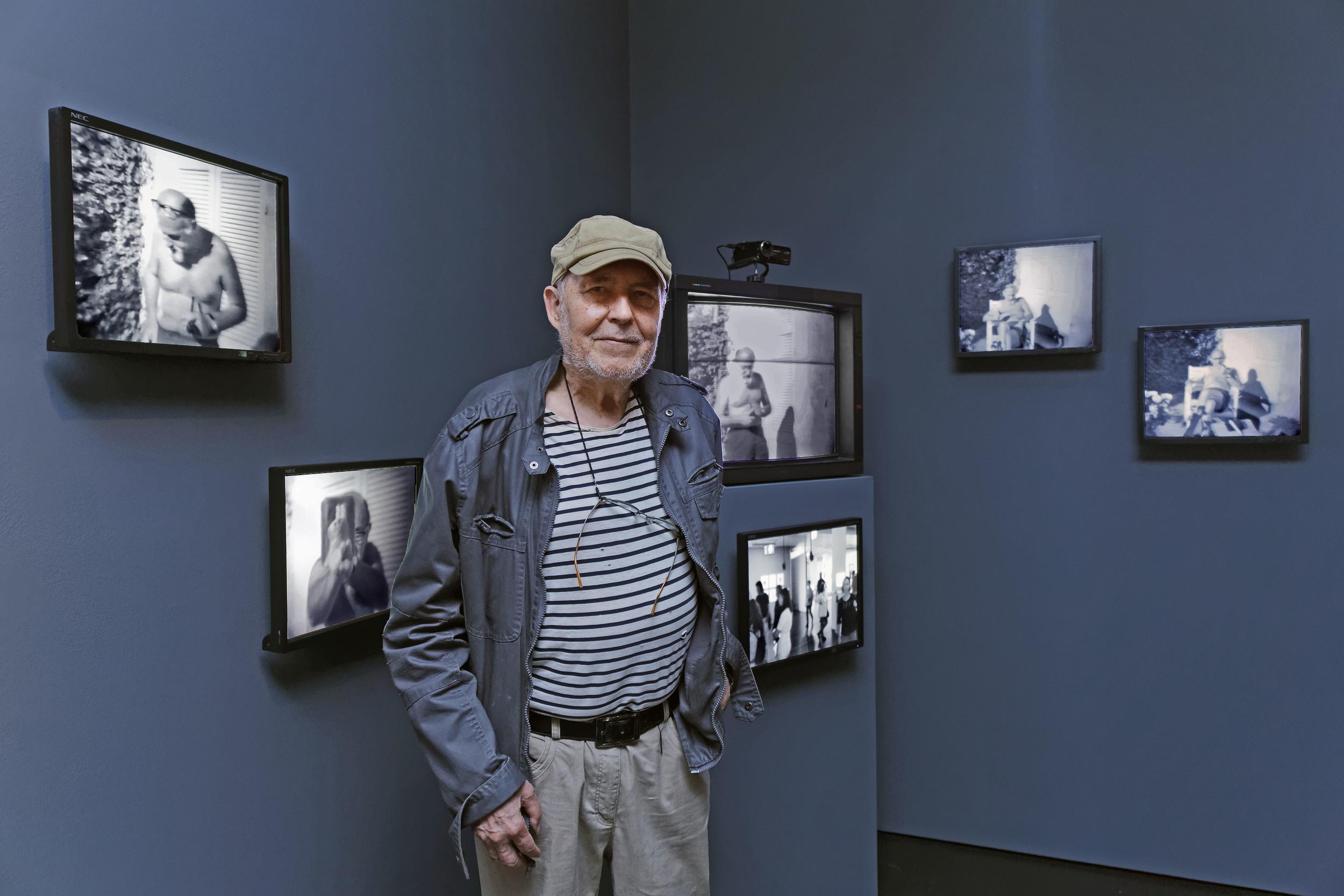 Fred Forest au NKM / Courtoisie de l'artiste