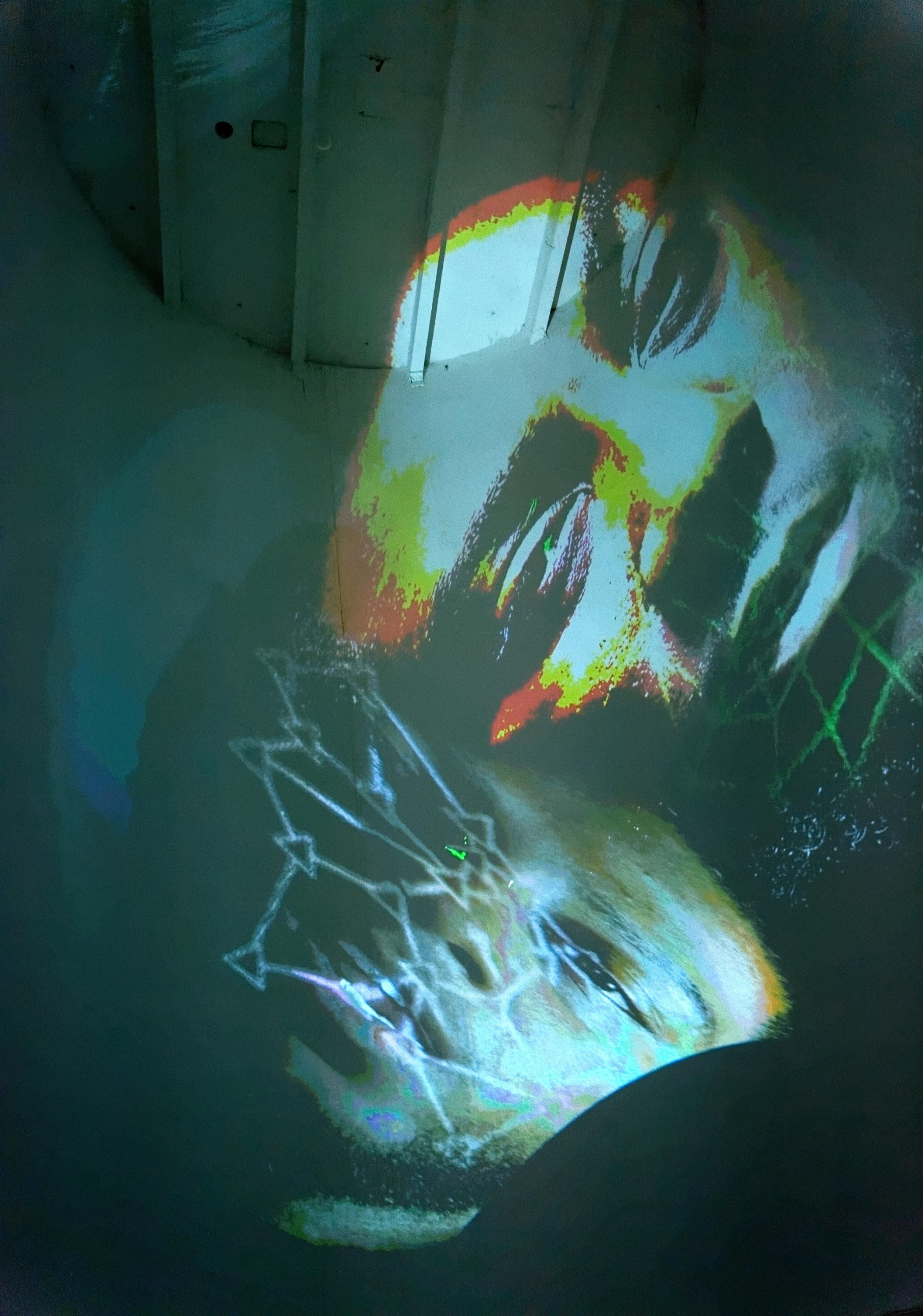 Weak-classifiers (2015)  Tony Oursler  Courtoisie Lisson Gallery et Biennale de Lyon 2015  © Blaise Adilon