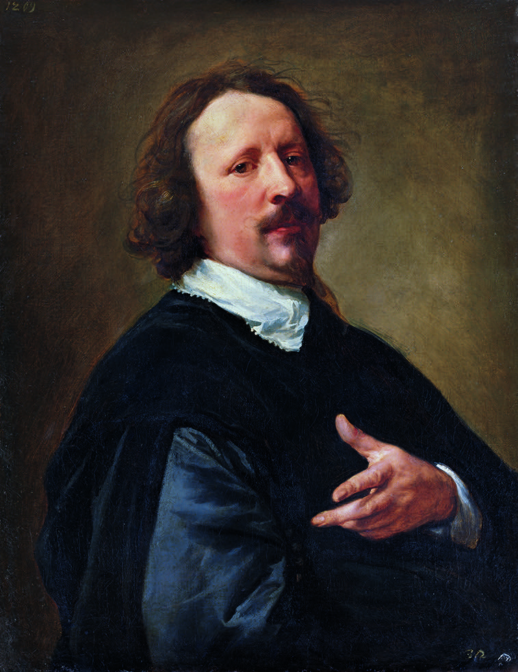 Portrait   de l'artiste     Caspar de Crayer  (  1634/35)   Anthonis van Dyck  © Hohenbuchau Collection / Liechtenstein. The Princely Collections, Vienna.