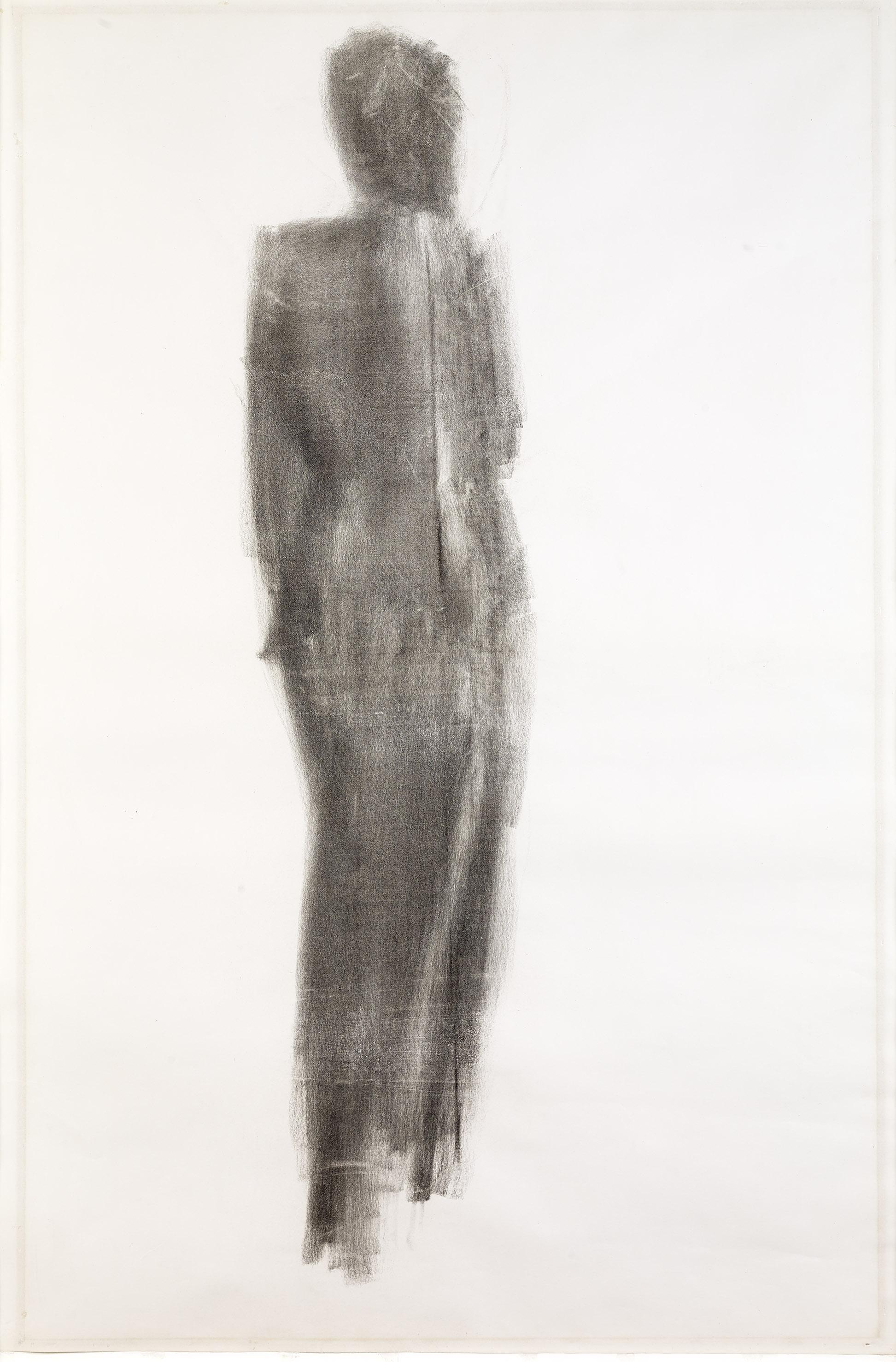 Etude de nu  (1955)  Nicolas de Staël  Photo : Claude Germain  Archives Fondation Maeght  © Adagp Paris 2016.