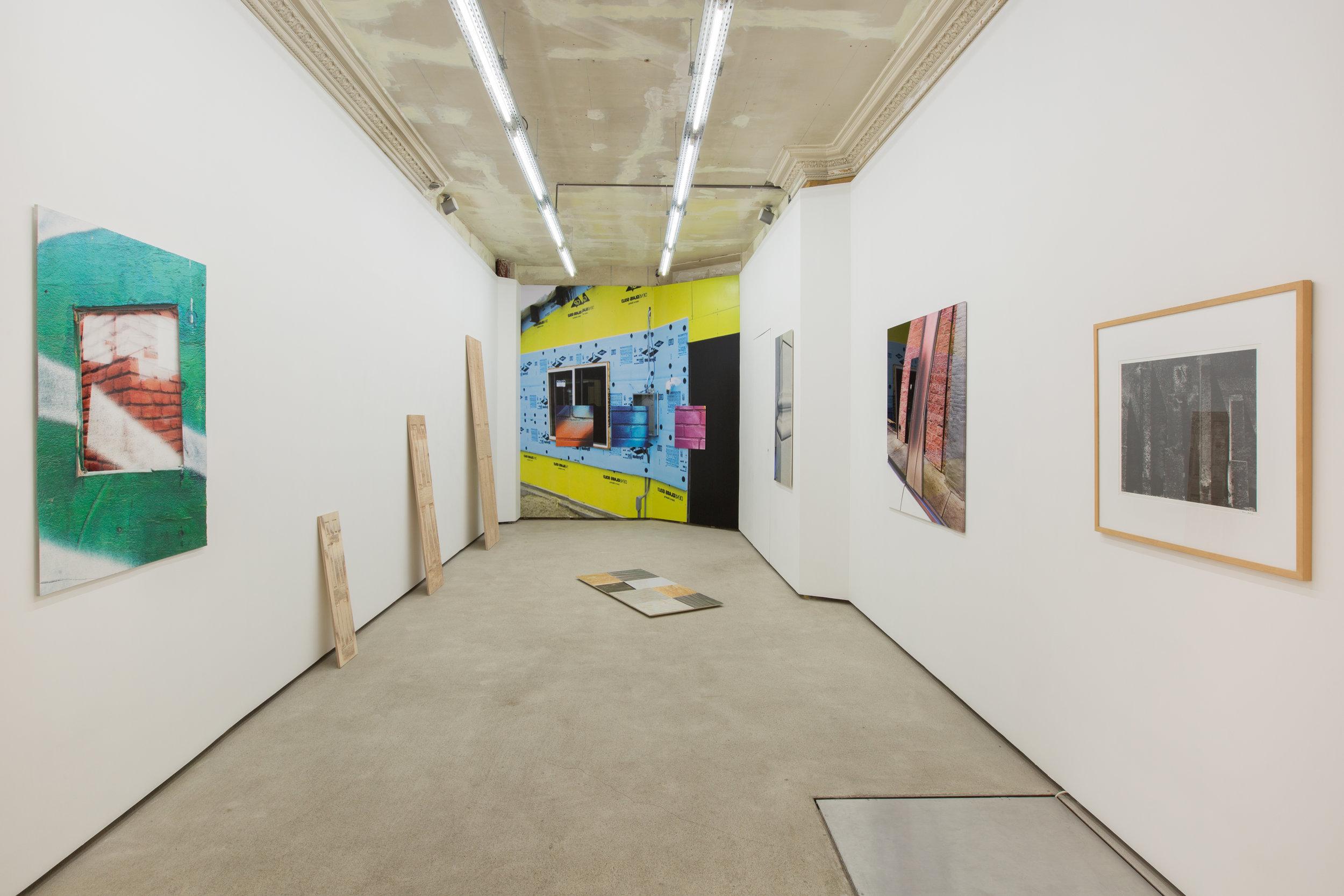 """Vue de l'exposition """"Cold Frame""""  © Galerie pact"""
