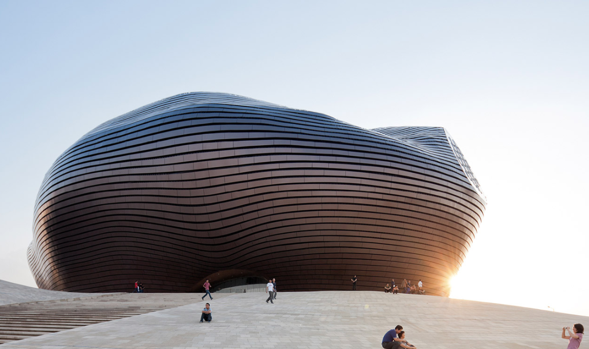Ordos Art Museum  © MAD Architects