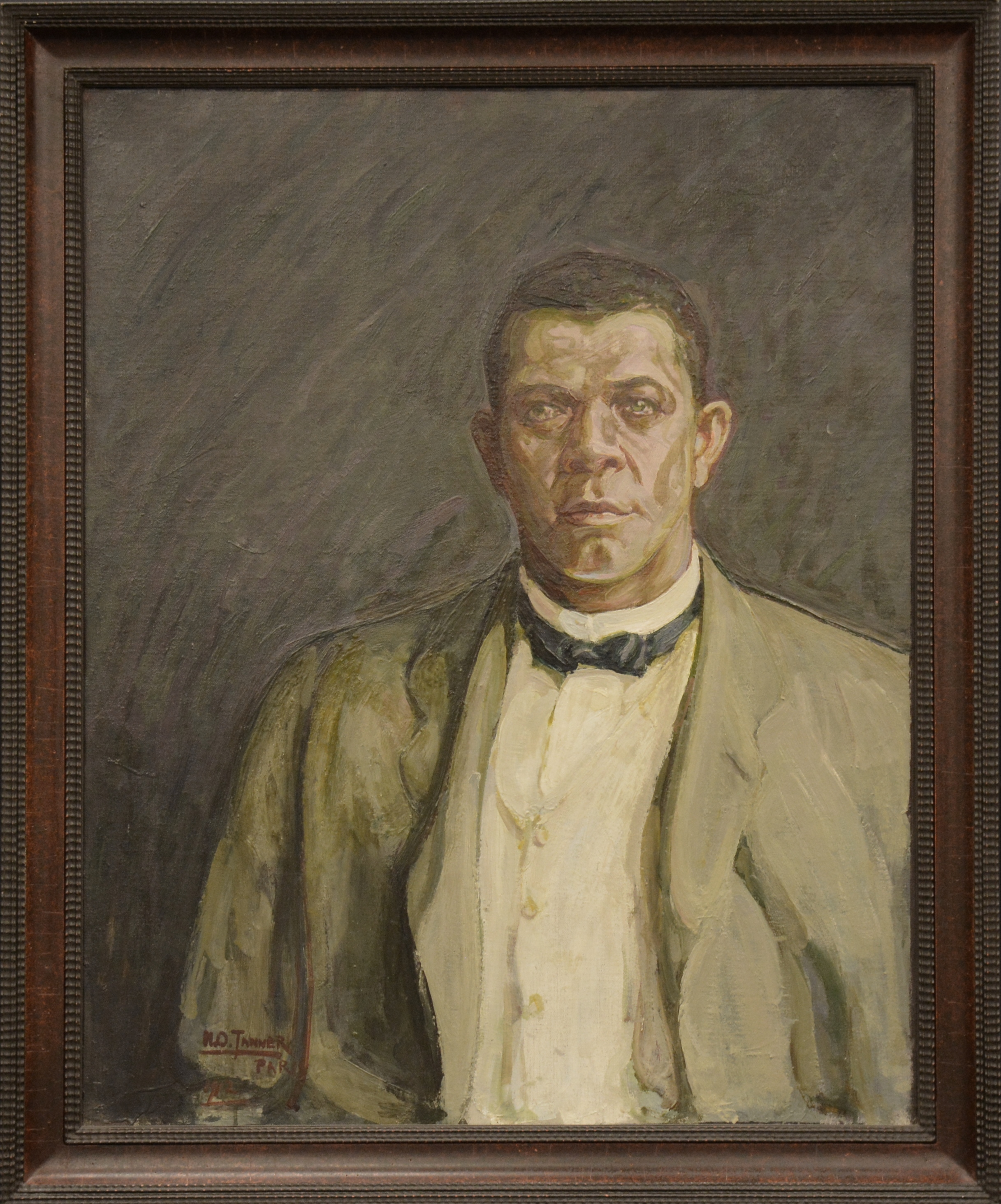 Portrait of Booker T. Washington  (1917)  Henry Ossawa Tanner  © Des Moines, State Historical Museum of Iowa