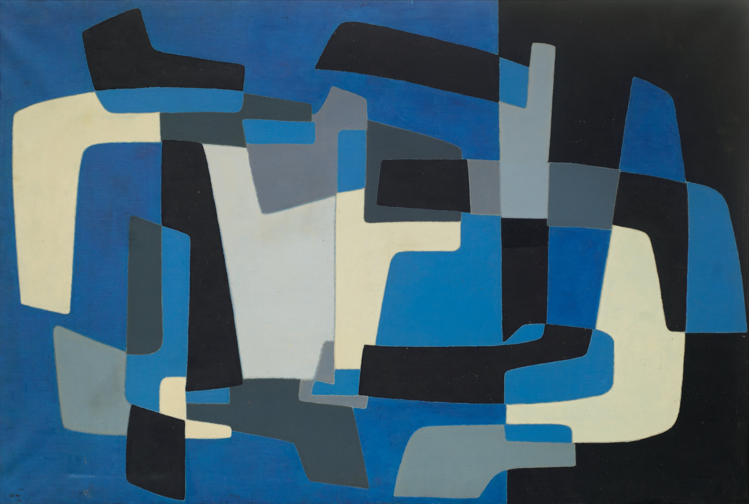 Composition  (1952)   Pol Bury  © Collection Centre for Fine Arts Brussels. Photo Yves Gervais
