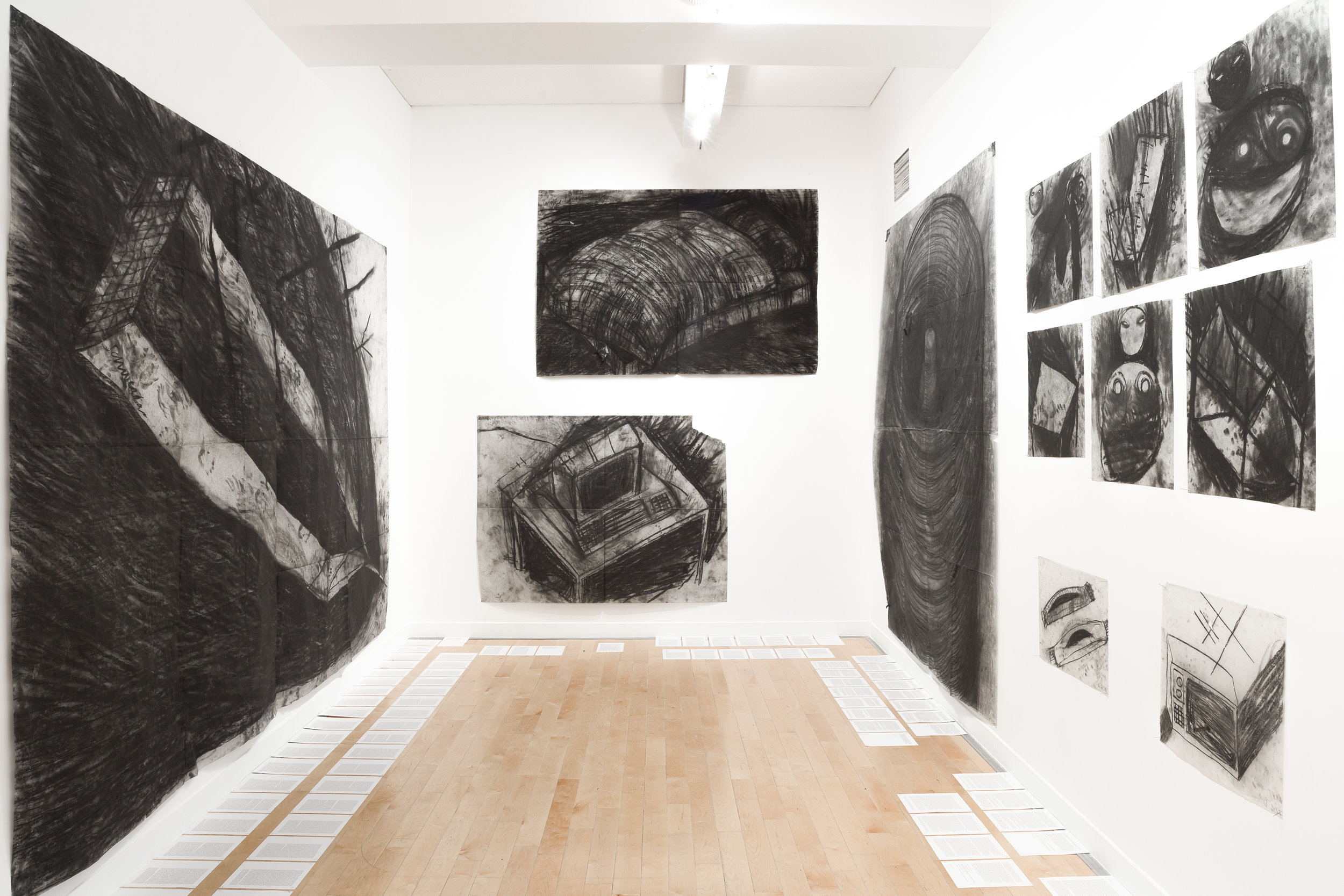 Miriam Cahn  Vue d'exposition au Benaki Museum, Athènes  © Stathis Mamalakis