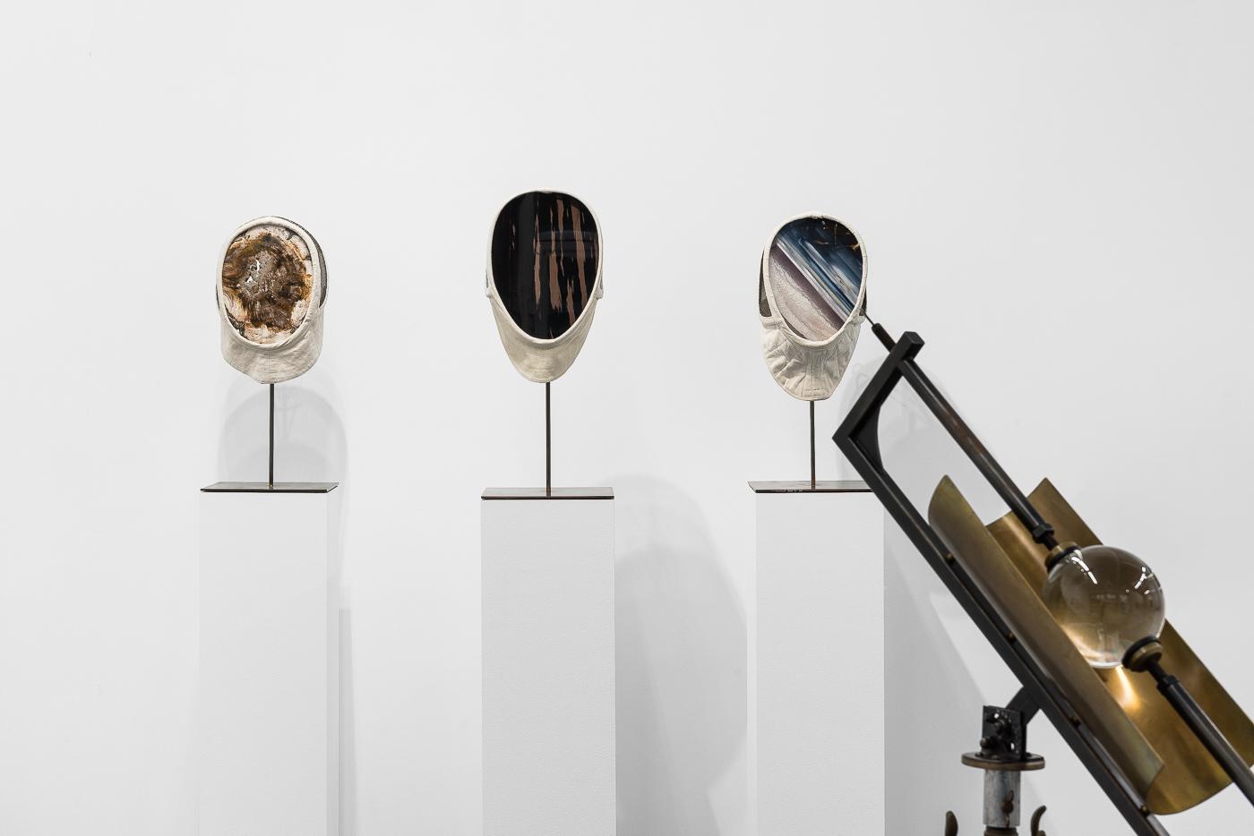 Vue de l'exposition  Vertigo  Gabriel Léger Courtesy galerie Vincent Sator / © Grégory Copitet