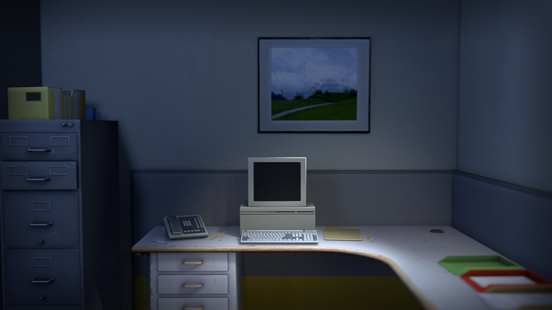 The Stanley Parable,  2013, Galactic Cafe (Davey Wreden et William Pugh) © Galactic Cafe.