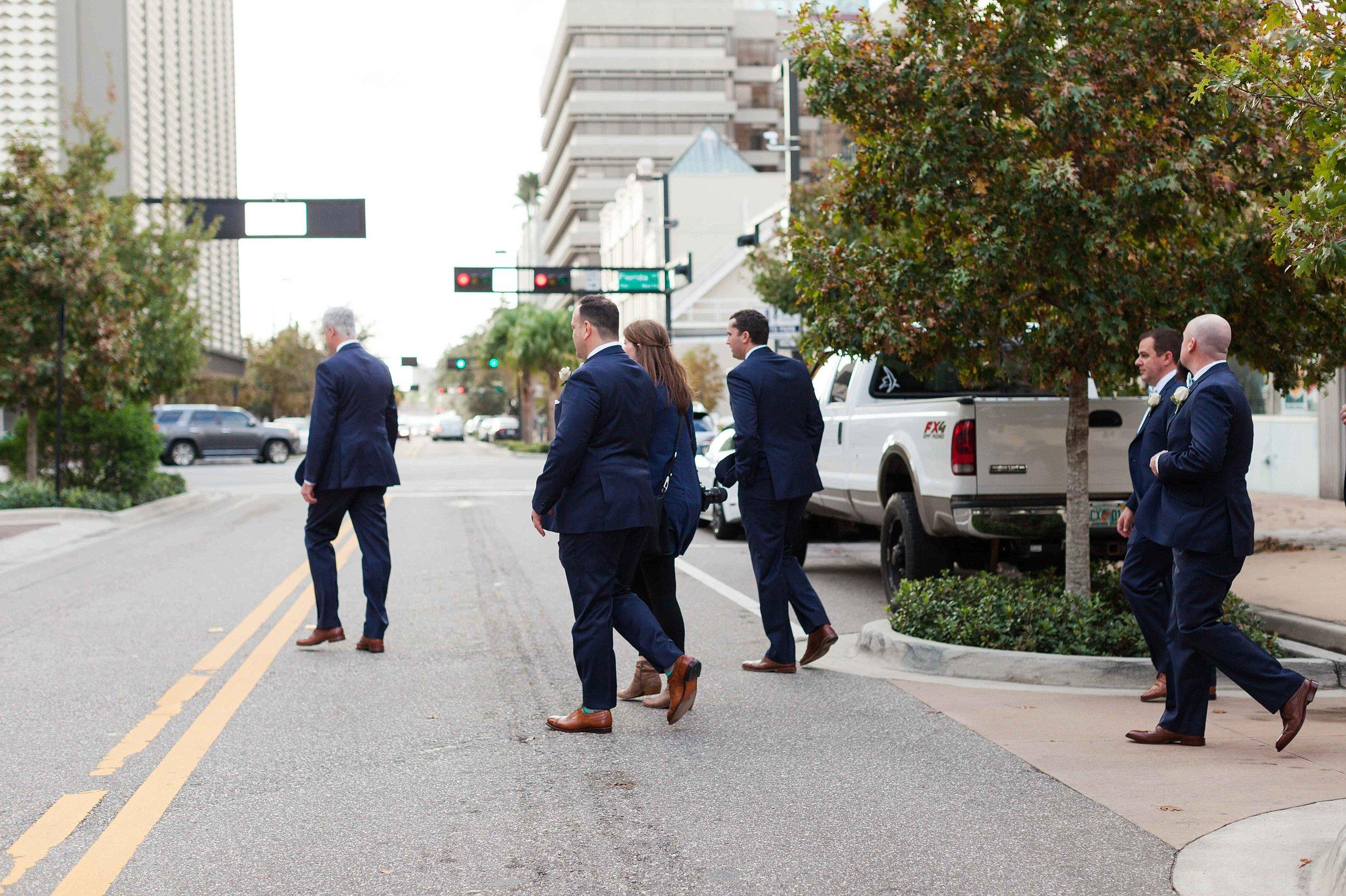 Walking with the guys to take their photos!!