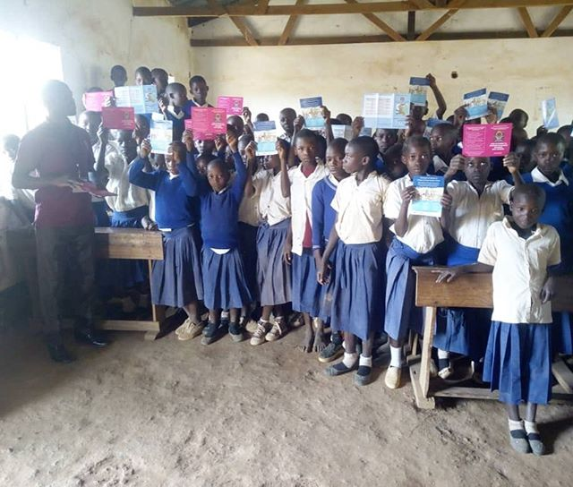Check out this #girlpower! Young girls at Nyanshimba primary school in Biharamulo, Tanzania received the #HPV vaccine as part of an outreach campaign by NJIA leaders. Pepal are proud to support the fight against cervical cancer in Tanzania! #hpvawareness #cervicalcancer #leadership #tanzania