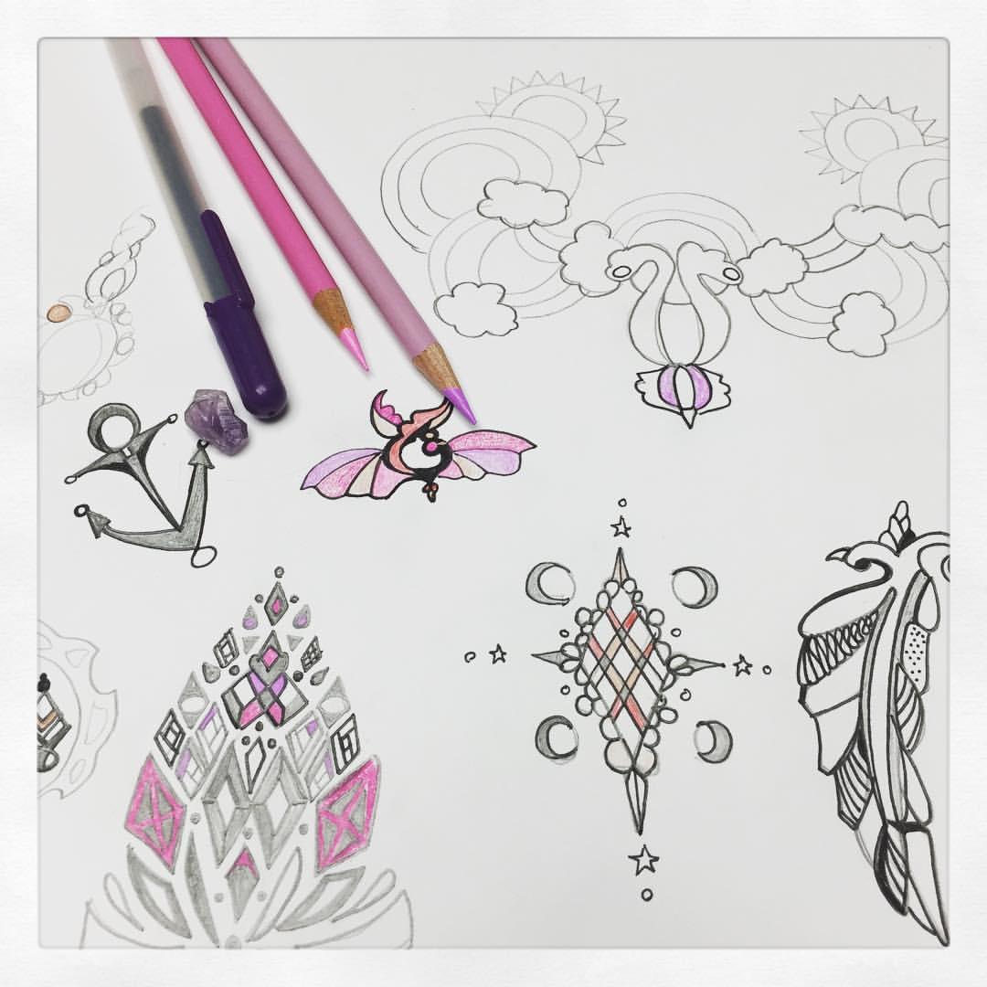 I be #doodling