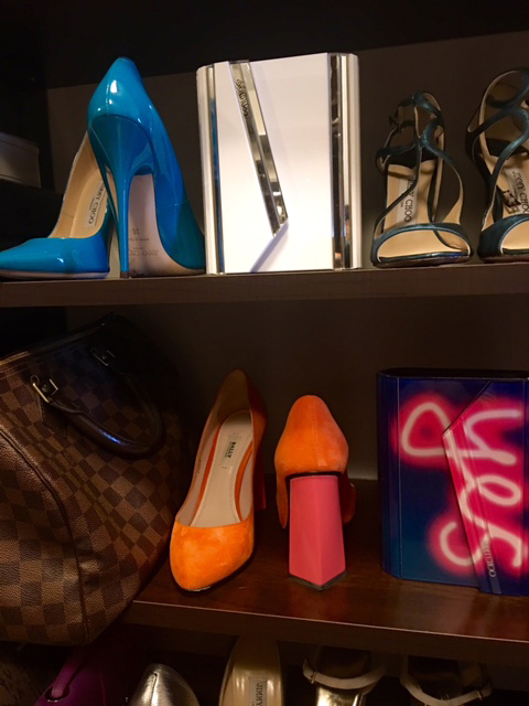 yes! Those orange and coral bally heels feel a lot like me