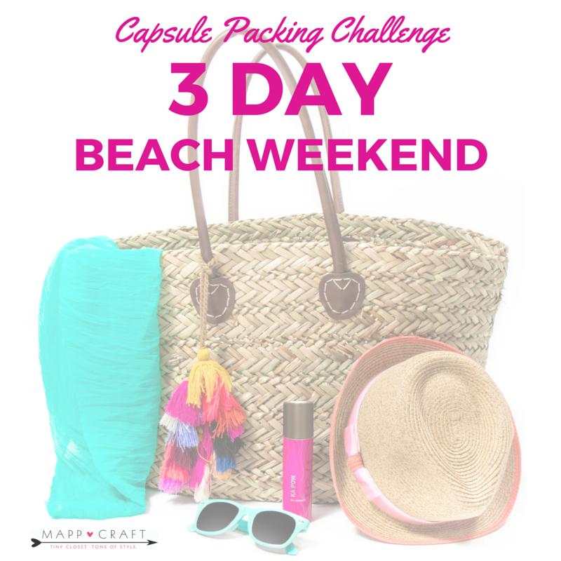 3-day-beach-packing-list