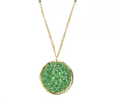 Pangea Jade Pendant