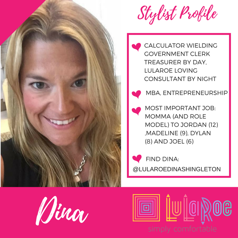 LuLaRoe Fashion Consultant Dina Shingleton