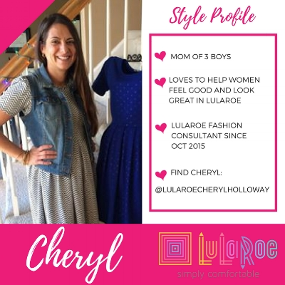 LuLaRoe Fashion Consultant Cheryl Holloway