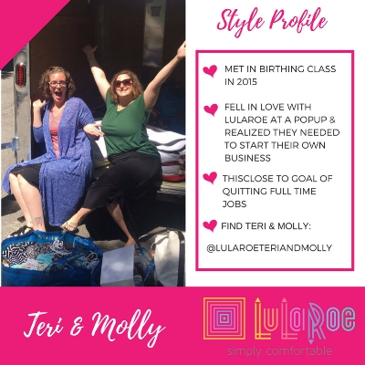 LuLaRoe Fashion Consultants Teri & Molly