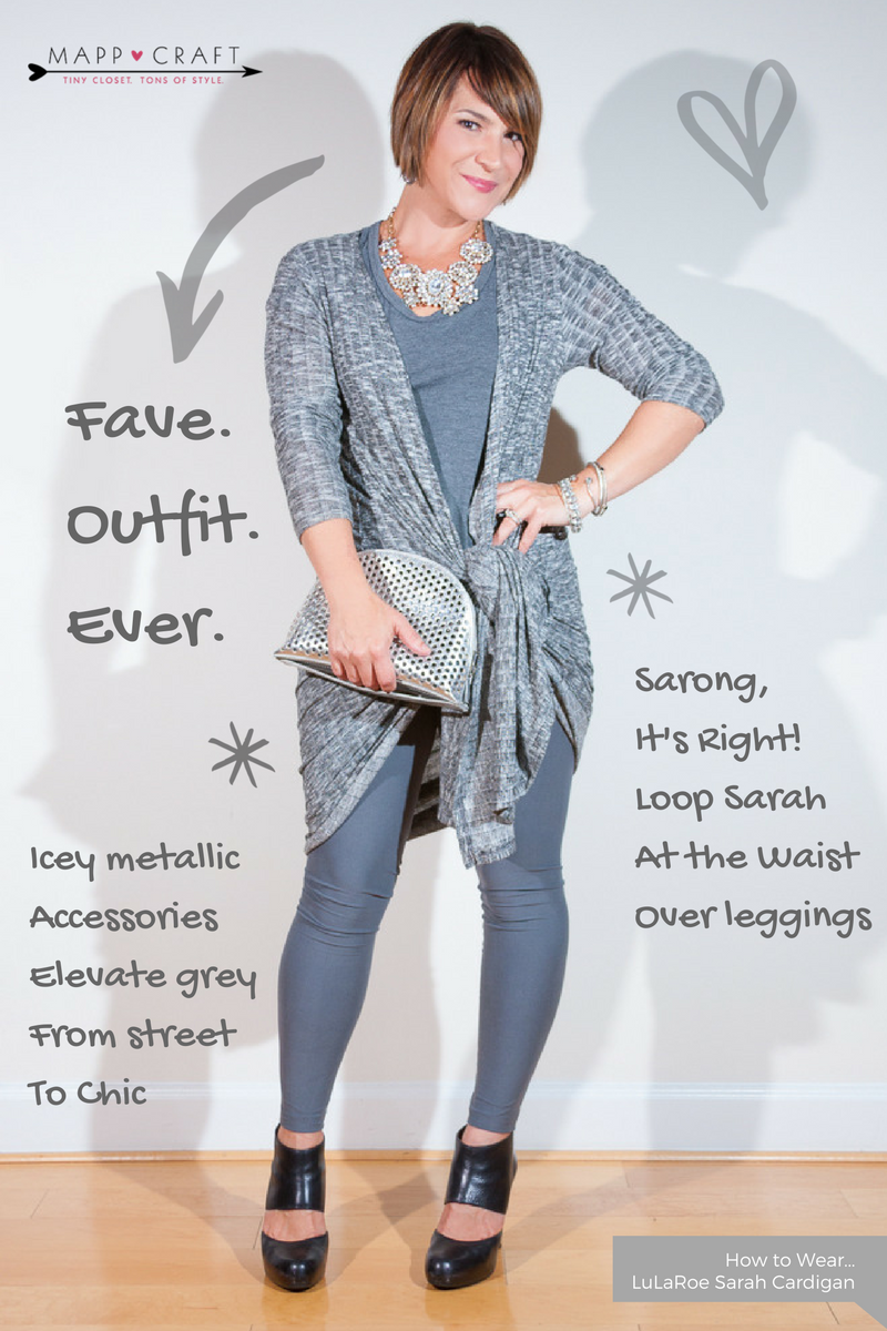 LuLaRoe Key Piece #3 Sarah Cardigan | Grey Gone Glam