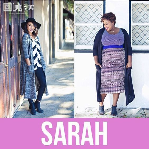 LuLaRoe Lovers Like, Love, The Floor Kissing Sarah Cardigan