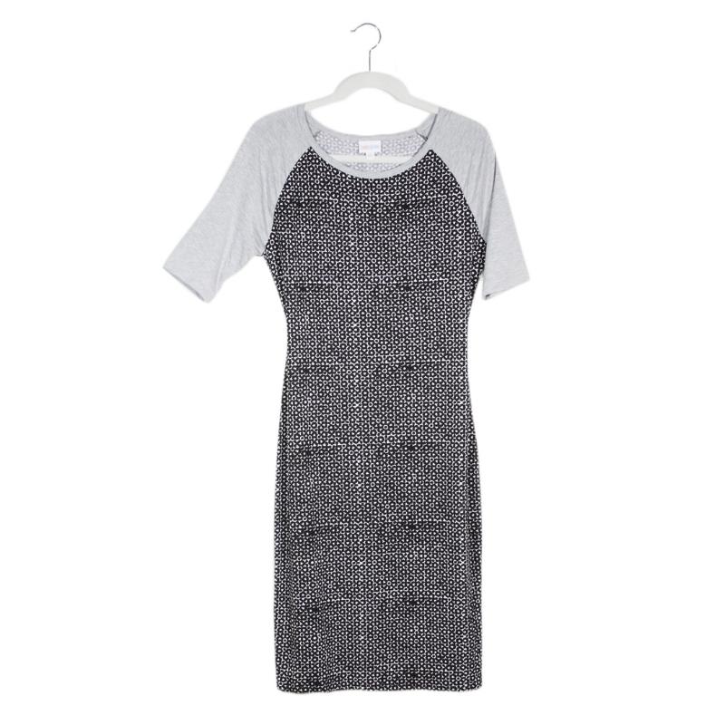 LuLaRoe Key Piece #5: Julia Dress, Micro Dots
