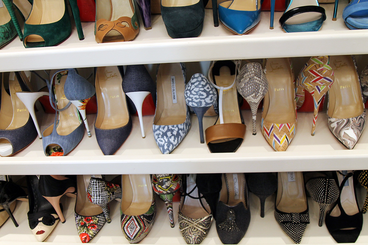 The Shoe Wall | Blind Closet
