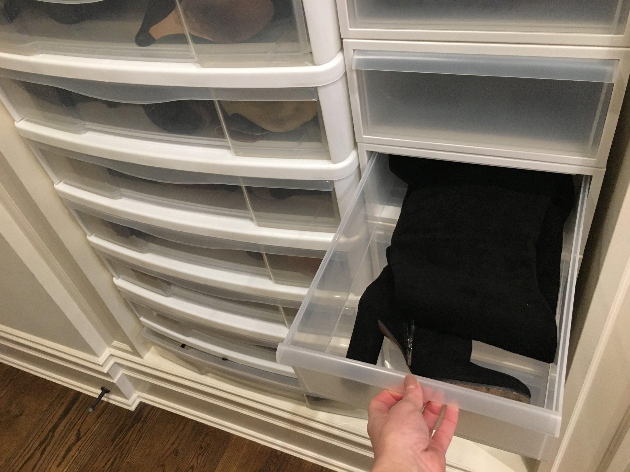 Boot Storage | Blind Closet