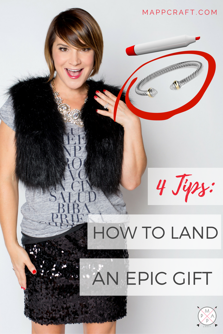 4 Tips: How to Land an Epic Gift   MappCraft