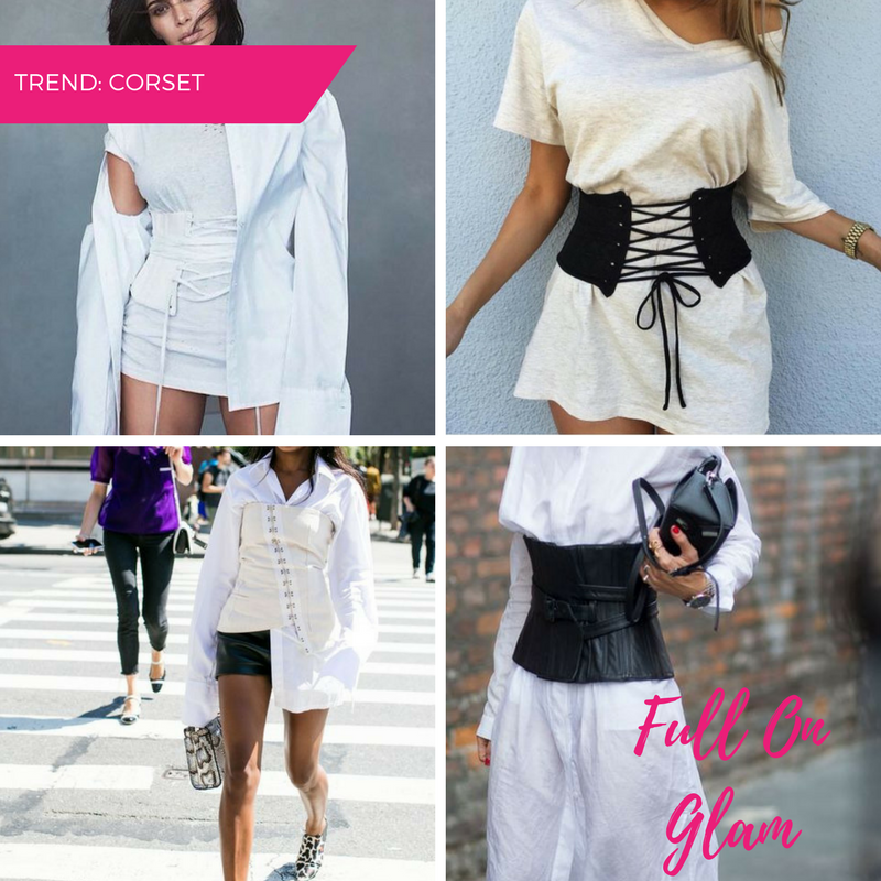 MappCraft | Spring '17 Street Style Trends: Full On Glam Corset