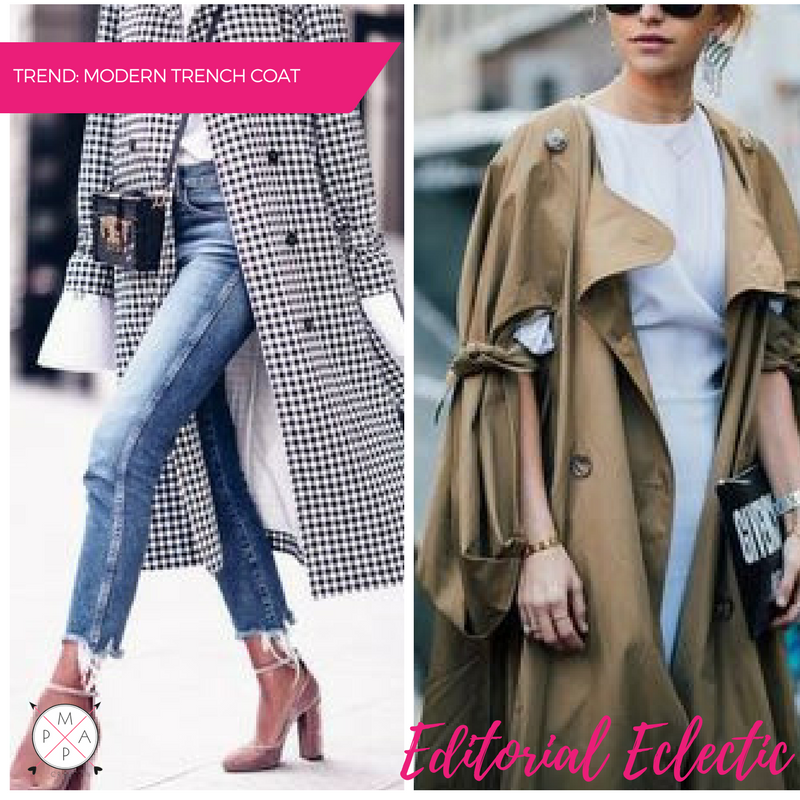 MappCraft | Editorial Eclectic Style Essential #5: Modern Trench