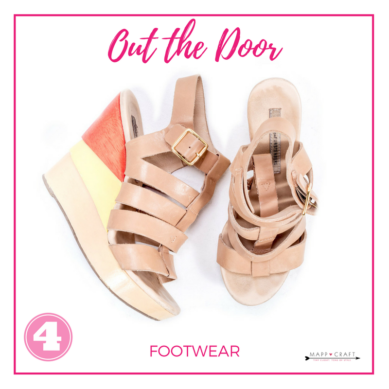 MappCraft | How to Accessorize Like A Stylist Step 4: Out the Door, Footwear