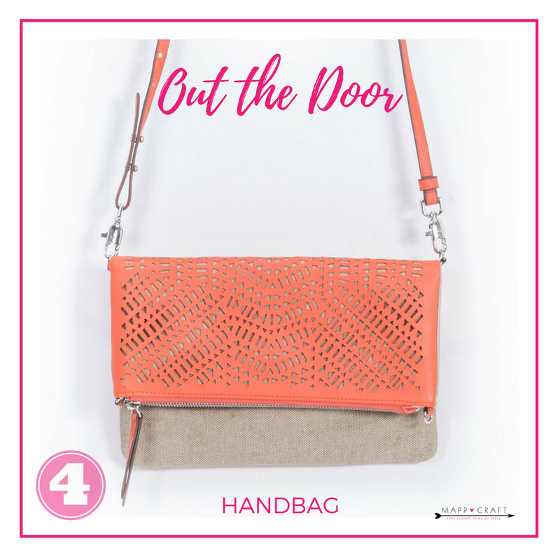 MappCraft | How to Accessorize Like A Stylist Step 4: Out the Door, Handbag