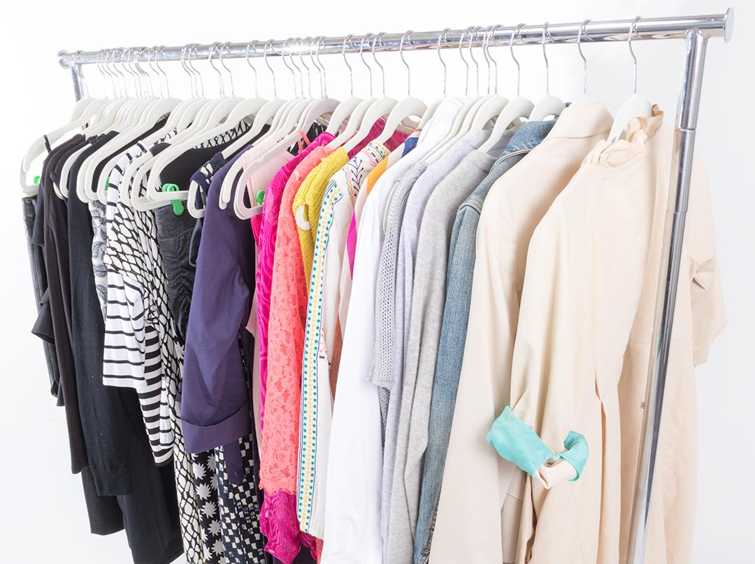 my closet hasn't always been this tidy