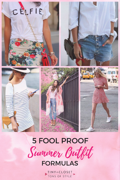 MappCraft | 5 Fool Proof Summer Outfit Formulas
