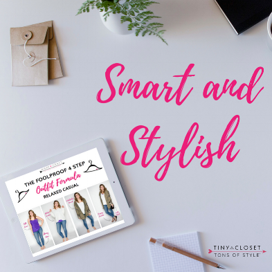 Tiny Closet, Tons of Style® Essential Survival Guide Capsule Wardrobe E-book