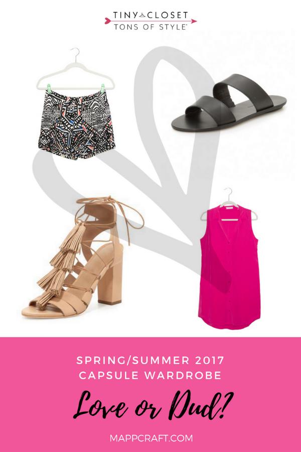 MappCraft | Love or Dud? Spring/Summer 2017 Capsule Wardrobe Review