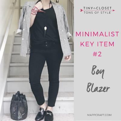 MappCraft | Minimalist Key Item #2: Boy Blazer