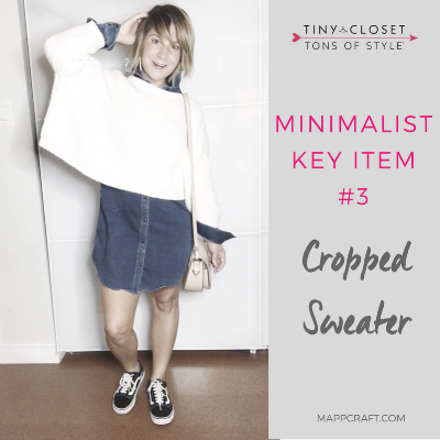 MappCraft | Minimalist Key Item #3: Cropped Sweater