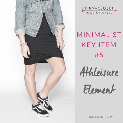 Fall 2017 Minimalist Essential #5: Athleisure Element