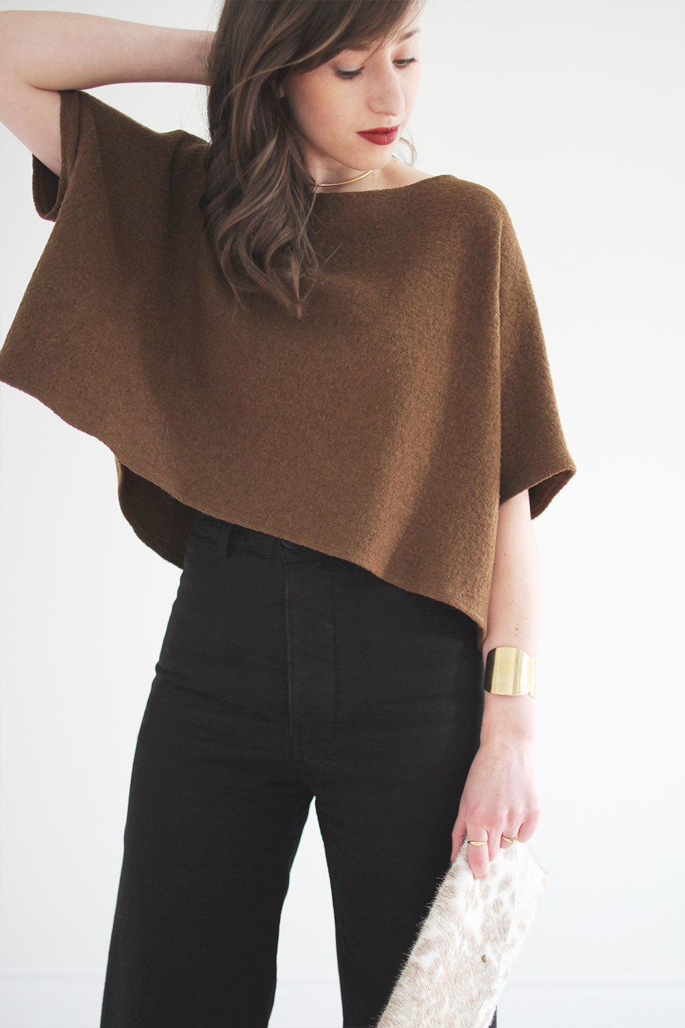 Fall 2017 Minimalist Essential #3: Cropped Sweater