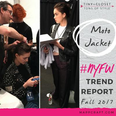 MappCraft | #NYFW Street Style Trend Report Fall 2017 - Moto Jacket
