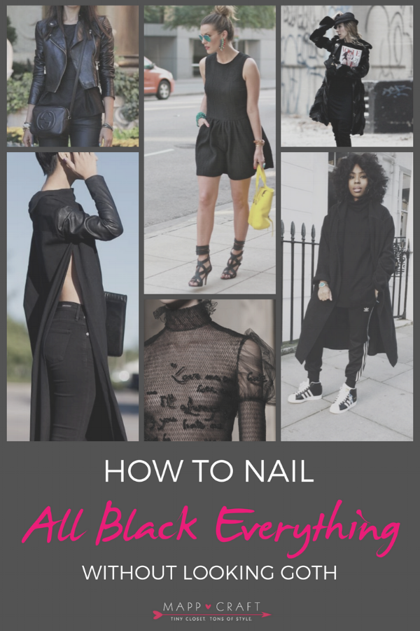MappCraft | Nail All Black Everything