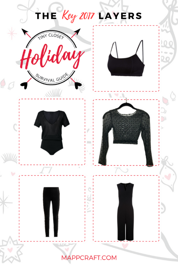 TINY CLOSET HOLIDAY SURVIVAL GUIDE 2017 | SHOP layers