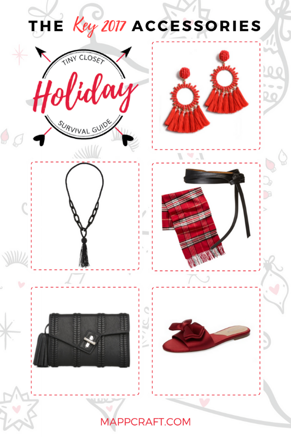 Tiny Closet Holiday Survival Guide 2017 | Shop Accessories