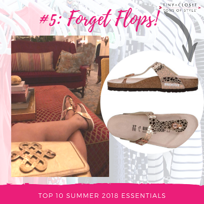 MappCraft | Summer 2018 Essentials #5 Forget Flops